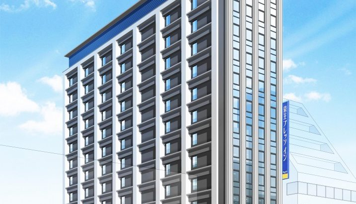 【口コミ有り】京王プレッソイン東京駅八重洲は築年も新しくベッドの品質が良いキレイなビジネスホテル